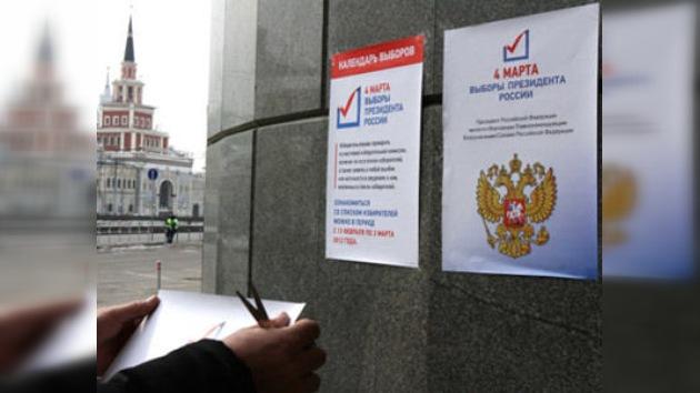 Moscú se pronuncia en la elección del nuevo presidente ruso