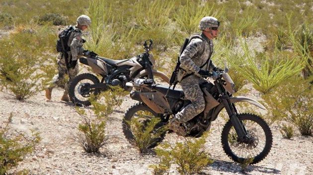 La DARPA diseña una motocicleta híbrida furtiva para militares