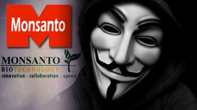 Anonymous 'tumba' el sitio web de Monsanto