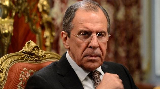 """Lavrov: """"Criminales forman parte de la Guardia Nacional de Ucrania"""""""
