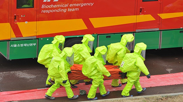 Seúl y Washington realizarán prácticas militares contra el bioterrorismo
