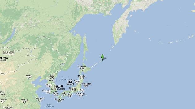 Se registra un sismo de magnitud 7 en las islas Kuriles