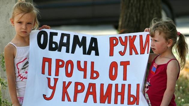 Por qué EE.UU. se involucra en Ucrania si no le importa el pueblo ucraniano