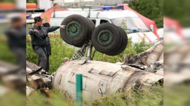 Identificadas todas las víctimas mortales del accidente aéreo en el norte de Rusia
