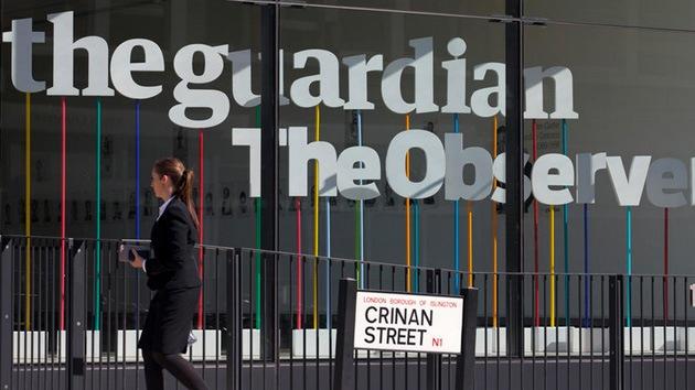 Critican a 'The Guardian' tras publicar una consigna antipalestina