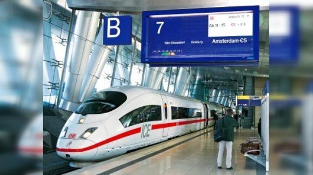 Tren Eurostar se atascó en el túnel de la Mancha