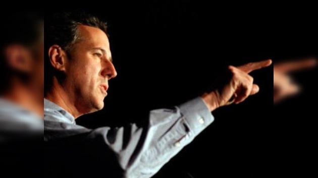 Rick Santorum, candidato ganador en Iowa