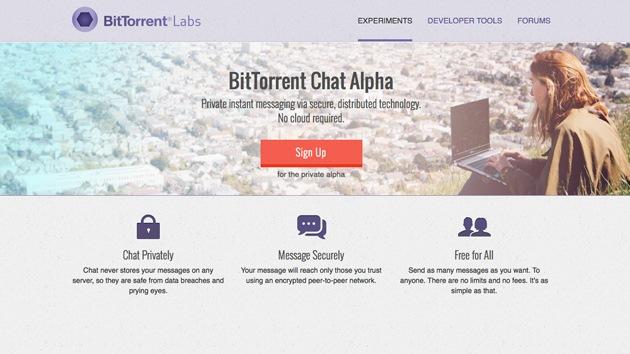 BitTorrent anuncia un programa de mensajes P2P seguro contra la vigilancia