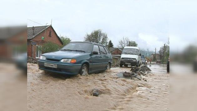 Situación de emergencia en la ciudad rusa de Vladikavkaz por fuertes lluvias