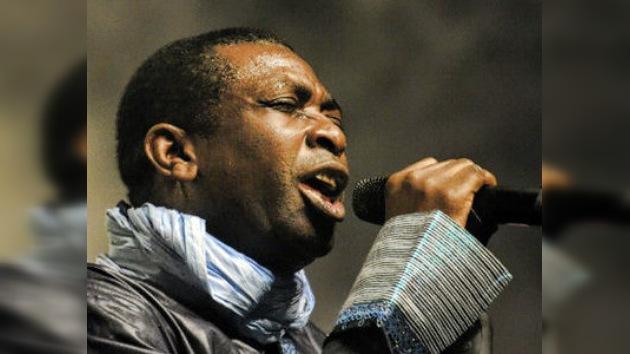 Youssou N'Dour se presenta como candidato a la Presidencia de Senegal