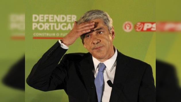 Sócrates dimite como líder socialista en Portugal tras la victoria conservadora