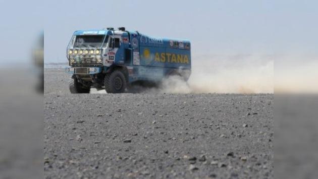 Doblete de Kamaz Master en la décima etapa del Dakar 2012