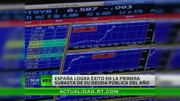 España da buenas señales al emitir casi 3.000 millones de euros en bonos