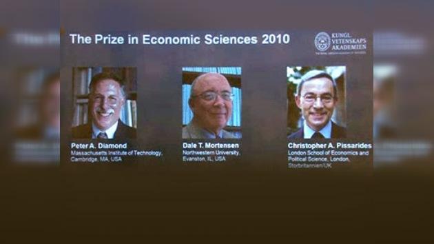 Fueron anunciados los premos Nobel 2010 en Economía