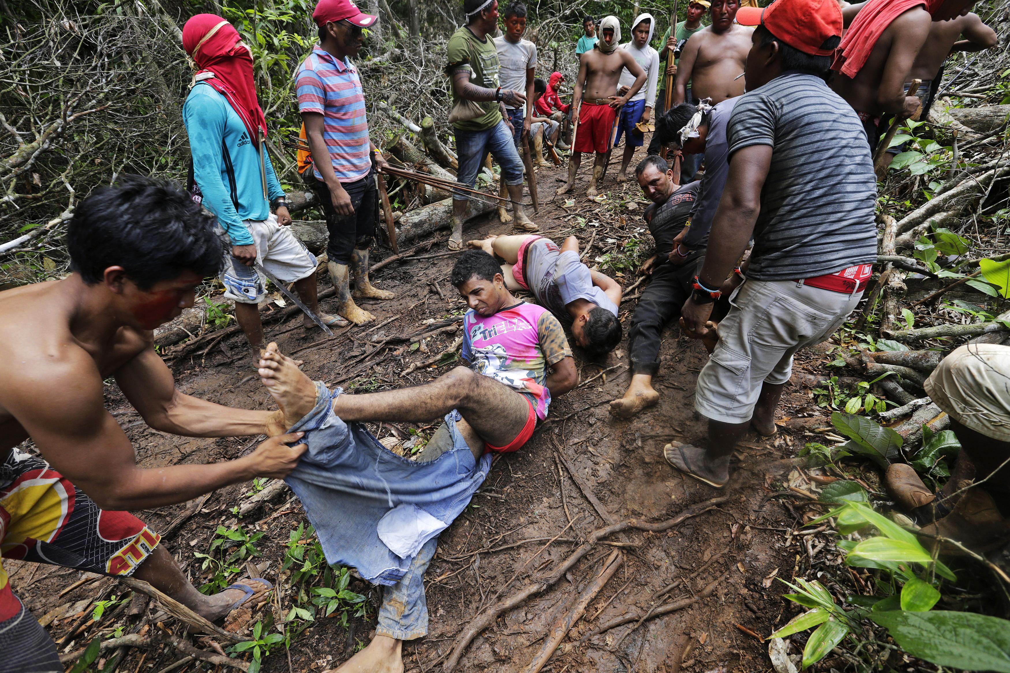Los aborígenes asumieron la responsabilidad de proteger la selva