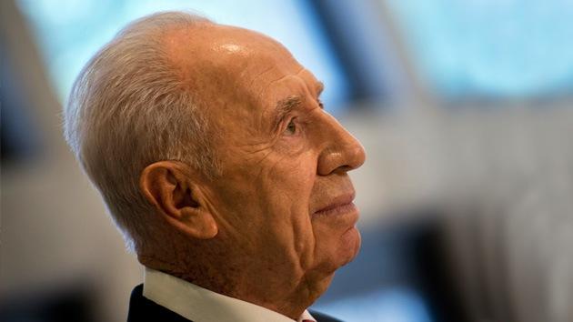 """Shimon Peres: Irán está """"en una guerra abierta"""" contra Israel"""