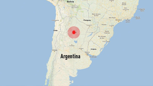 Un sismo de 5,9 grados sacude el noroeste de Argentina