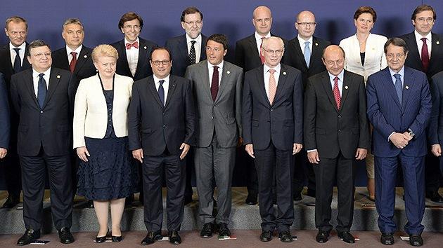 Líderes de la UE aprueban endurecer las sanciones contra Rusia
