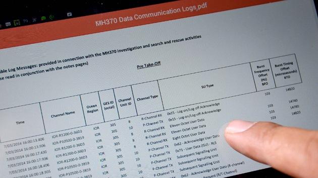 Roban datos secretos sobre el MH370 desaparecido de computadoras malasias