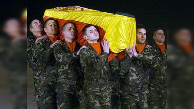 Un muerto y seis heridos españoles en un ataque talibán en Afganistán