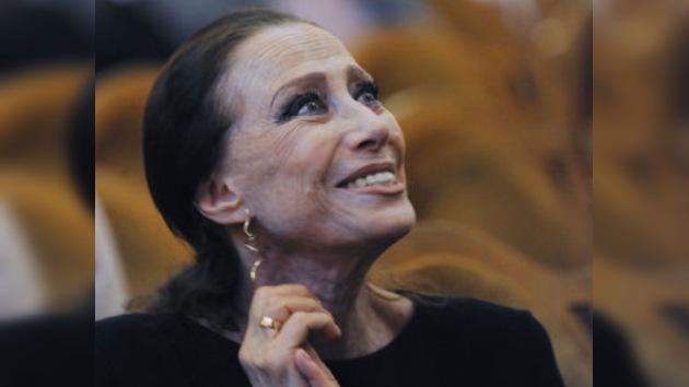Francia ovaciona a la bailarina rusa Maya Plisétskaia en su 85 cumpleaños