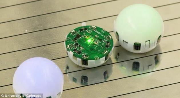 Desarrollan un enjambre de mini-robots esféricos para colonizar otros planetas