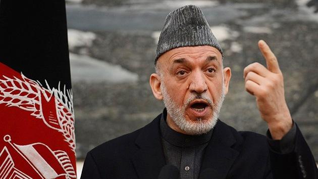 Karzai 'corta las alas a la OTAN' sobre las zonas residenciales de Afganistán