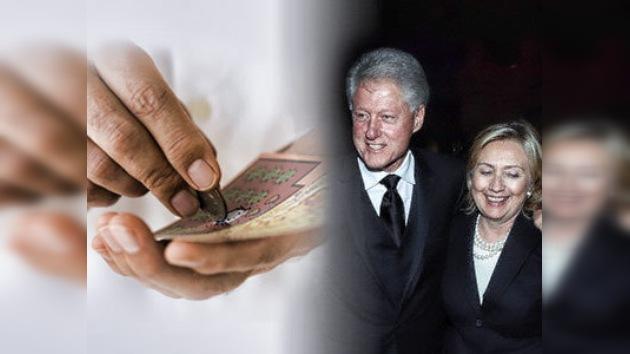 ¡Gane un día con Bill Clinton!
