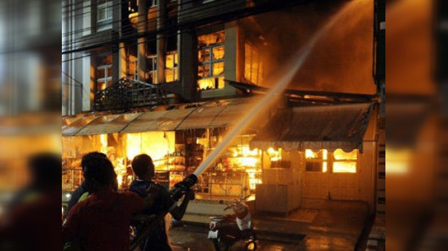 Video: Año Nuevo chino en Tailandia deja varios heridos durante espectáculo pirotécnico
