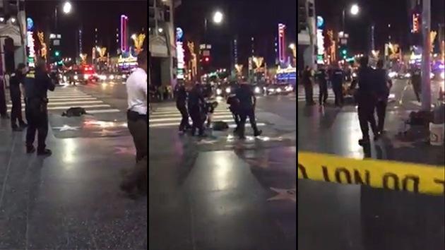 EE.UU.: Policía en Hollywood mata a tiros a un hombre supuestamente desarmado