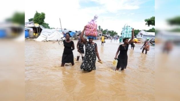 La epidemia de cólera en Haití, agravada por el huracán Tomás