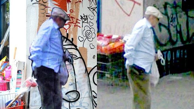 Fotos: Artista italiano saca los 'fantasmas de Google' a las calles de Nueva York