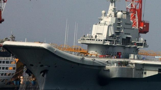 """""""Un segundo portaaviones chino disuadiría a EE.UU. de una intervención militar en Asia"""""""