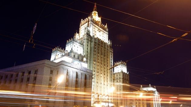 """Cancillería rusa: """"Los intentos de EE.UU. de aislar a Rusia no son exitosos"""""""