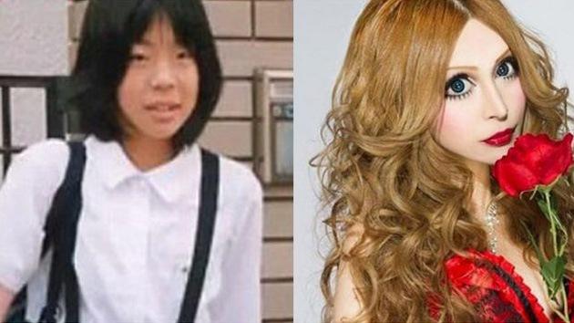 Video: Una joven asiática gasta 100.000 dólares para convertirse en una muñeca