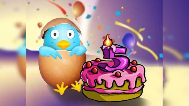 Twitter cumple cinco años