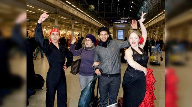 Flamenco sin fronteras: el 'duende' andaluz reina en el metro de Londres