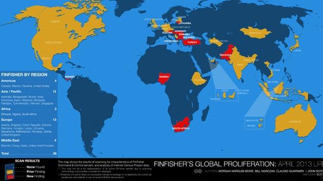 Gobiernos de 36 países utilizan un avanzado software para espiar a sus ciudadanos