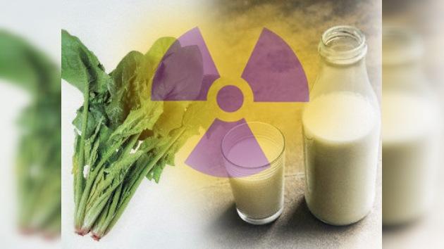 Registran alto nivel de radiación en alimentos en Japón