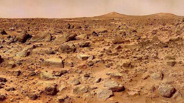 Hallan pruebas de que hace 200.000 años fluía agua en Marte
