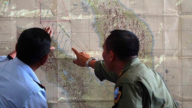 """Satélites captaron una """"señal electrónica"""" del avión de Malasia"""