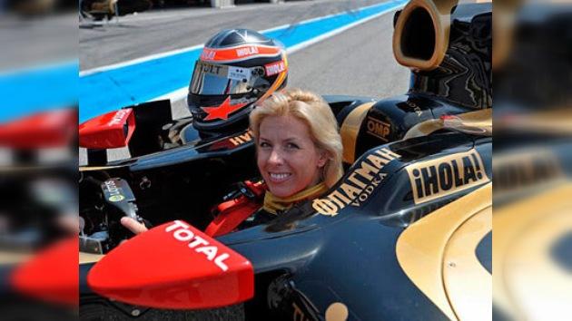 María de Villota, la primera mujer de habla hispana al volante de un Fórmula 1