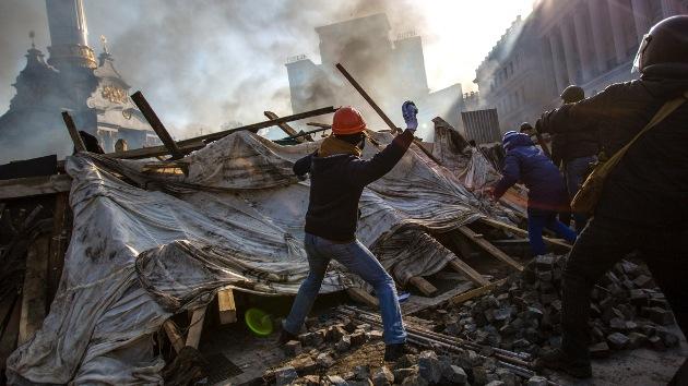 Ucrania: Lanzan operación antiterrorista para desarmar a los extremistas