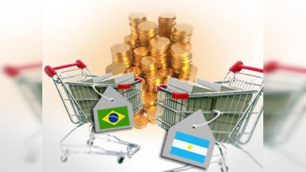 Argentina y Brasil decidieron vender conjuntamente sus mercancías