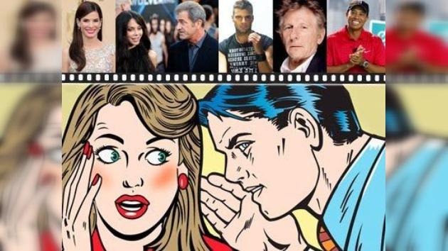 Las celebridades escandalosas de 2010
