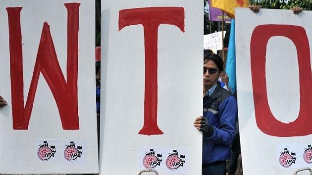 """La OMC ha logrado un acuerdo """"para empresas transnacionales, no para pobres"""""""