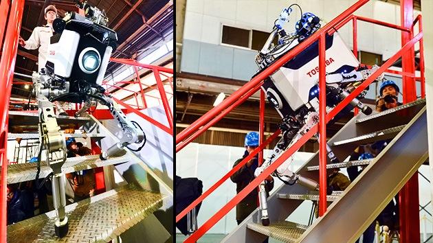 Toshiba crea un robot capaz de acceder a las entrañas de Fukushima