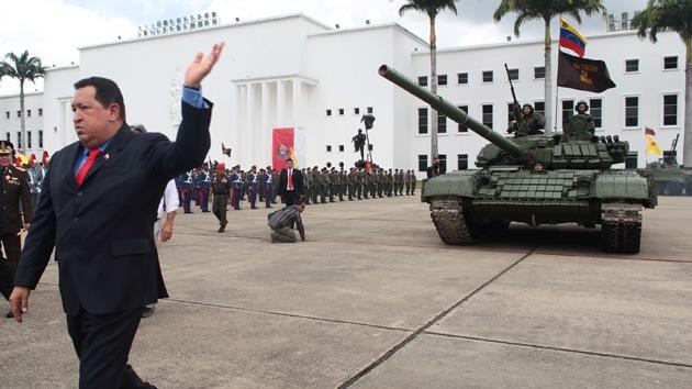 Otros cien tanques rusos para Venezuela