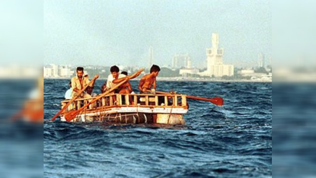 Cuatro cubanos intentaron emigrar a los Estados Unidos