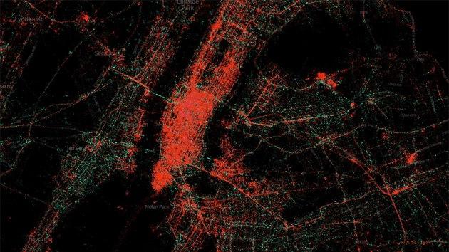 Crean un mapa que revela que Android es usado por personas con menos ingresos